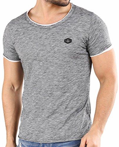 Redbridge - Camiseta de manga corta para hombre, cuello redo
