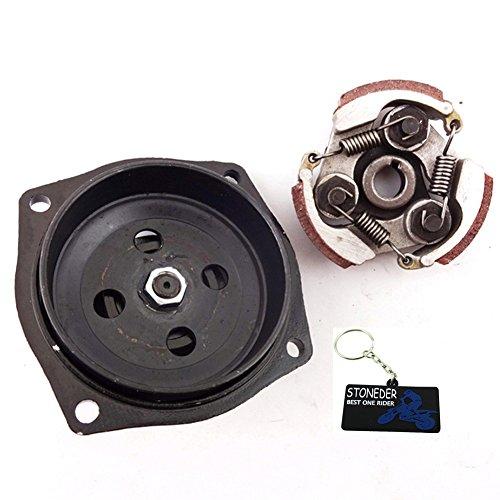 STONEDER 25H 6T Caja de Cambios para Batería W Embrague para 47 49 CC Pocket Quad ATV Mini Dirt Bike Moto