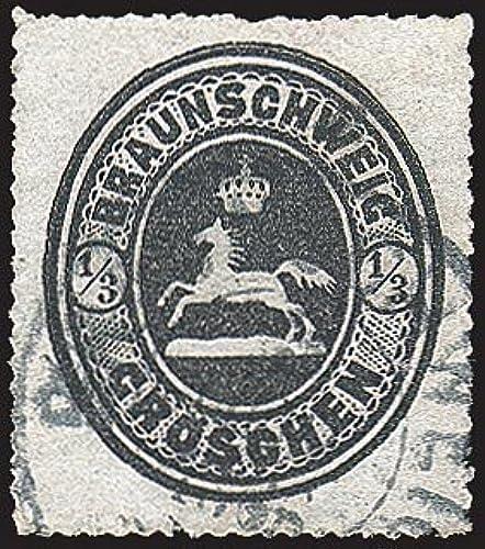 Goldhahn BraunschWeiß Nr. 17 gestempelt Briefmarken für Sammler