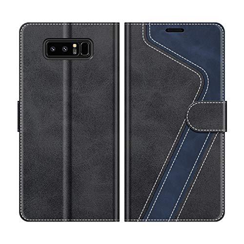 MOBESV Funda para Samsung Galaxy Note 8, Funda Libro Samsung Note 8, Funda Móvil Samsung Galaxy Note 8 Magnético Carcasa para Samsung Galaxy Note 8 Funda con Tapa, Negro