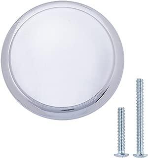 "AmazonBasics Modern Top Ring Cabinet Knob, 1.16"" Diameter, Polished Chrome, 10-Pack"