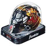 Franklin Sports Máscara pequeña de Portero con el Logo de la NHL, NHL League Logo, Color Negro, tamaño Talla única