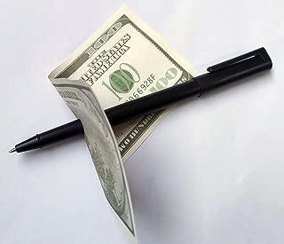 Magic Trick Penetrating Ball Point Pen - Penetrating Pen - Easy Magic Trick - Force The Pen Through a Banknote! Magic Pen Penetration Through Paper Dollar Bill Money Magic Tricks Close Up Prop