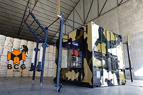 Grupo Contact Box-Cube-Gym 1 Puerta Mod.Nitro Gimnasio en contenedor (diseño Personalizado).