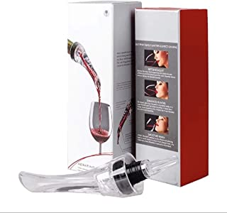 Consumer`s favorite red wine pourer - bottled instant red wine red wine set - perfect red wine accessories - boutique gift box packaging, red wine fast decanter, high temperature resist