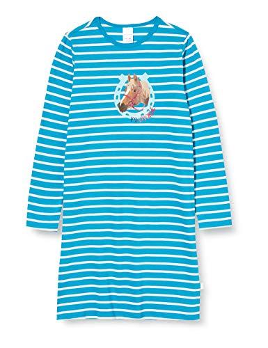 Schiesser Mädchen 1/1 Nachthemd, Petrol, 116