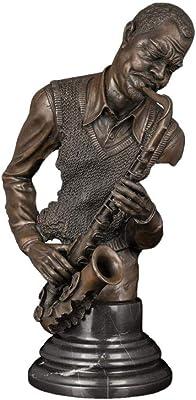 San Patricio Metal pintado a mano Estatua IHP01: Amazon.es: Hogar