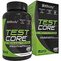 Testcore para hombres contiene zinc, que ayuda a mantener los niveles normales de testosterona, aporta vitaminas y extractos vegetales (180 cápsulas vegetarianas)