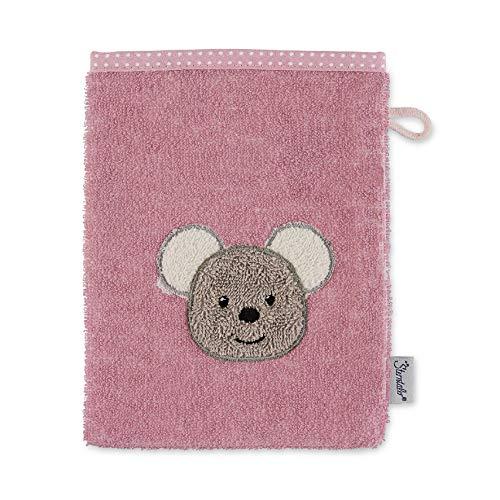 Sterntaler Waschhandschuh Maus Mabel, Größe: 21 x 15 cm, Rosa 7202001
