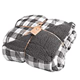 Northpoint Grey Buffalo Plaid Blanket - Queen