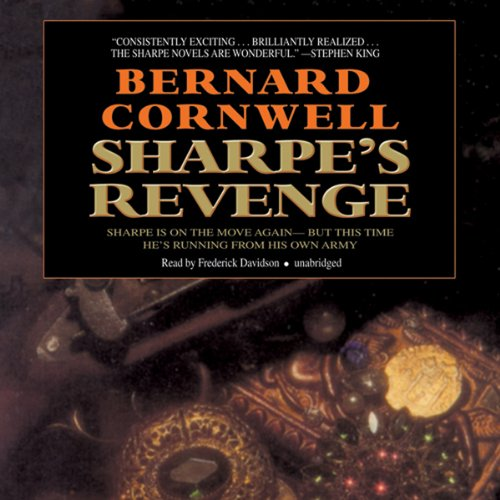Sharpe's Revenge audiobook cover art