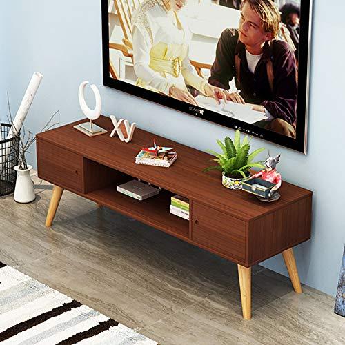 Nordique En Bois Assemblé TV Cabinet Salon Casier Étagère Fleur Chambre Rack De Stockage Décoration De La Maison,D