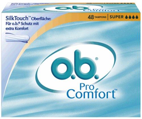 o.b. Tampons Pro Comfort Super, 48er Packung