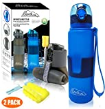 Best Collapsible Water Bottles - QUILIVIK Collapsible Water Bottle/Travel Water Bottle (2Pack), 22 Review