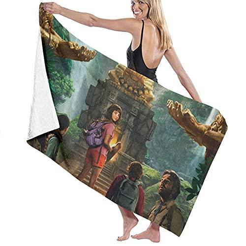 Dora the Explorer - Toallas de baño gruesas, suaves y cómodas, con exquisitos patrones impresos, adecuadas para salas de estar, playas y piscinas 🔥