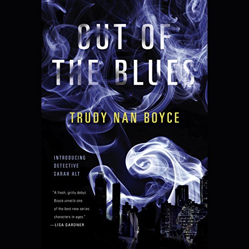 Out of the Blues audiobook cover art