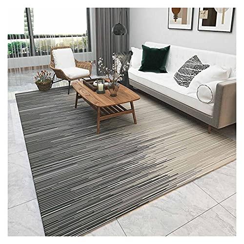 XXN Alfombra de salón americana minimalista escandinavo sofá mesa de centro alfombra de la mesita de noche manta área de lavado a máquina todo partido