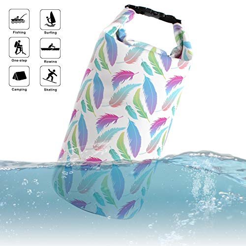 TEGOS Waterproof Dry Bags Top Roll Sack 5L/10L/20L for Floating Boating Kayaking Fishing Swimming Camping Hiking Water Sports Sailing Biking Adventures Outdoors Shoulder Pack