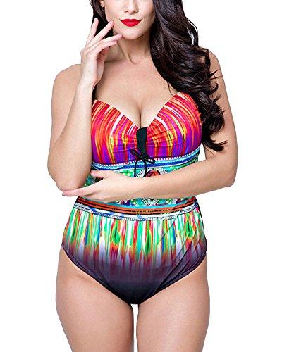 PengGengA Mujer Triangular Bikini Tallas Grandes Bañadores