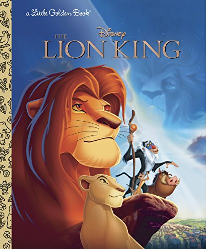 The Lion King (Disney The Lion King) (Little Golden Book)