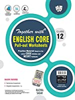 Together with English Core Pullout Worksheets Practice Material for Class 12