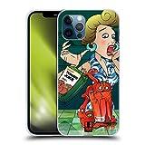 Head Case Designs Not Your Ordinary Juice Pomodori Mostruosi Cover in Morbido Gel Compatibile con Apple iPhone 12 / iPhone 12 PRO