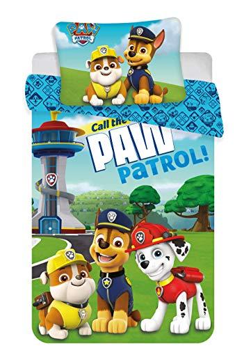 Paw Patrol Baby Bettwäsche-Set 100x135 + 40x60cm Baby Baumwolle