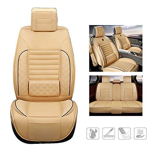 huitelai Fundas de asiento de coche para UDI A3 A4 A5 A6 A7 A8L Q7 Q8 S4 S5 SQ5 RS3 RS4 RS5 TT TTS d