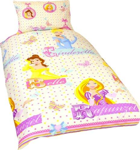 Parure housse de couette Linge de maison Princesse Disney Locket Rotary Lit 1 Personne Decoration chambre Enfant Fille