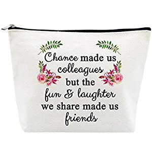 【Gorgeous Gifts】Heat transfer printing, smooth like leather felling & waterproof printing, Image print is bright and clear, vivid color. 【100% Cotton Canvas】16 oz material, soft, hardy & durable, the pouch feels very high quality.The printed funny sa...