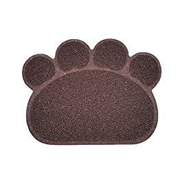 Cooliss Wonderful Pet Puppy Cat Feeding Mat Pad Cute PVC Bed Dish Bowl Food Feed Placement UK Hot