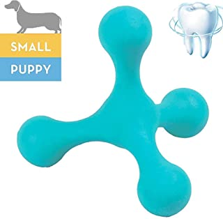 Puppy Toothbursh Toys with 4 Dental Care Balls,Durable Dog Chew Toys for Agreessive Chewers,Toothbrush Teething,Puzzle Traning Toys for Boredom