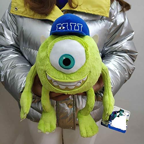 Peluches 32cm Monsters Mike Wazowski Peluche Monstruos De Peluche Muñeco De Niño Suave para Regalo De Niños
