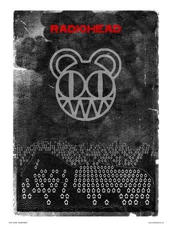 Radiohead Pop Art Print Poster van Pruik (048)