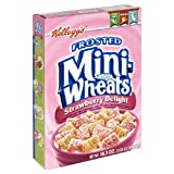 Kellogg's Frosted Mini-Wheat's Strawberry Delight Cereal, 16.3-Ounce Boxes (Pack of 3)