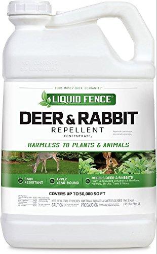Liquid Fence Deer & Rabbit Repellent Concentrate, 2.5-Gallon