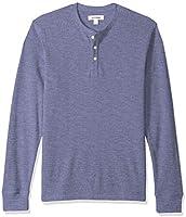 Amazon Brand - Goodthreads Men's Long-sleeve Slub Thermal Henley Top