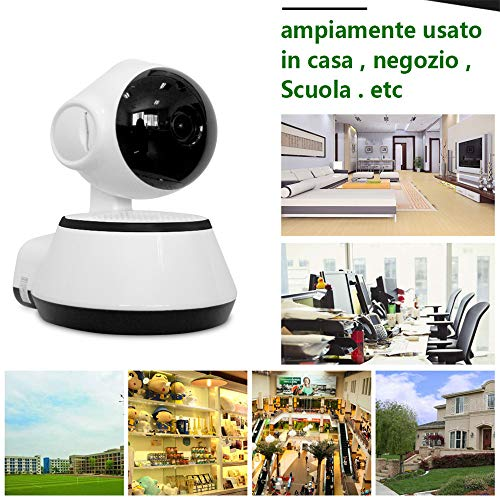 Lowest Prices! Home Security Camera Wireless,TechCode 720P WiFi Mini Baby Monitor Wireless IP Camera...