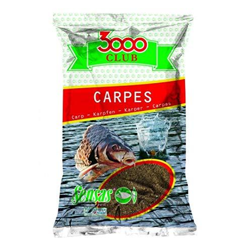Sensas 3000 Club Carp Big Fish Jaune 2.5 kg Cebo Engodo de Pesca
