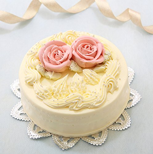 バタークリームケーキ 5号  昭和レトロ 懐かし風味 誕生日ケーキ ギフトに