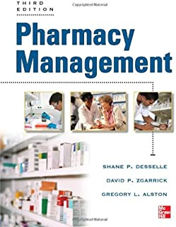 By Shane P. - Pharmacy Management: Essentials for All Practice Settings Pharmacy Management (5/13/12)