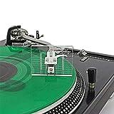 VTA - Regla de medición de azimut, Phono Tonearm - Regla de alineación de vinilo acrílico para reproductor de grabación, bloque de alineación, solo regla