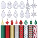 Boao 12 Pieces Christmas Theme Earring Cutting Dies