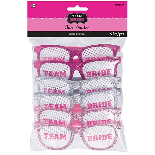 Amscan 250453 Team Bride Glitter Funshades Childrens Costume Accessories, 9