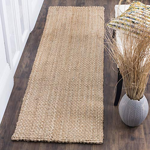 Safavieh Natural Fiber Collection NF401A Hand-woven Jute Area Rug, 10