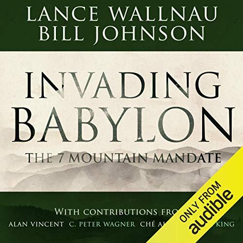 Invading Babylon audiobook cover art