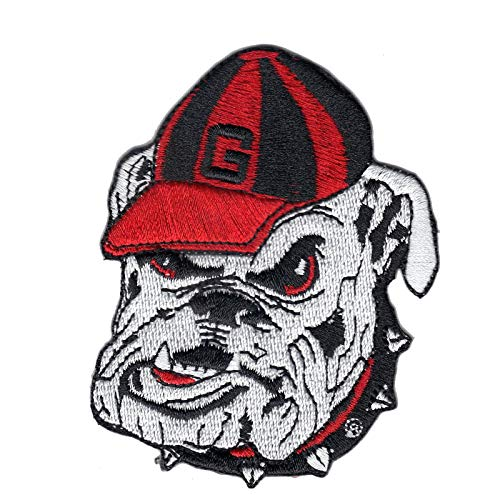 Georgia Bulldogs NCAA College School Logo Embroidered Iron On Patch Medium
