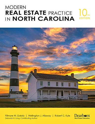 Compare Textbook Prices for Modern Real Estate Practice in North Carolina  ISBN 9781475486520 by Filmore W. Galaty