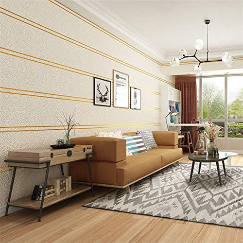 kengbi Einfach zu dekorieren, beliebte langlebige Tapete, moderne einfache Wildleder-Marmorstreifen, Tapete für Wände, Rolle, 3D-Vlies-Tischdecke, Wohnzimmer, Schlafzimmer