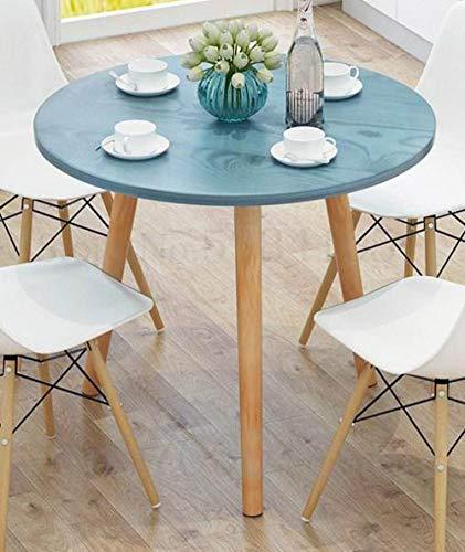 LJQLXJ Tavolo da Pranzo Tavolo da Pranzo Piccola Famiglia Moderna Semplice Tavolo da Pranzo Quadrato e Combinazione di sedie Sala da Pranzo tavolino da Pranzo, 80x80x73cm11